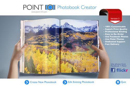point101 create a photo book photobook creator