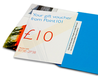 An open voucher